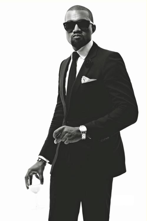 kanye west, suit, men of style,