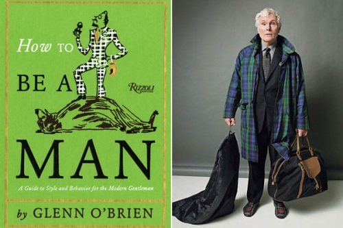 how to be a man, Glenn O'Brien, GQ, The Style Guy