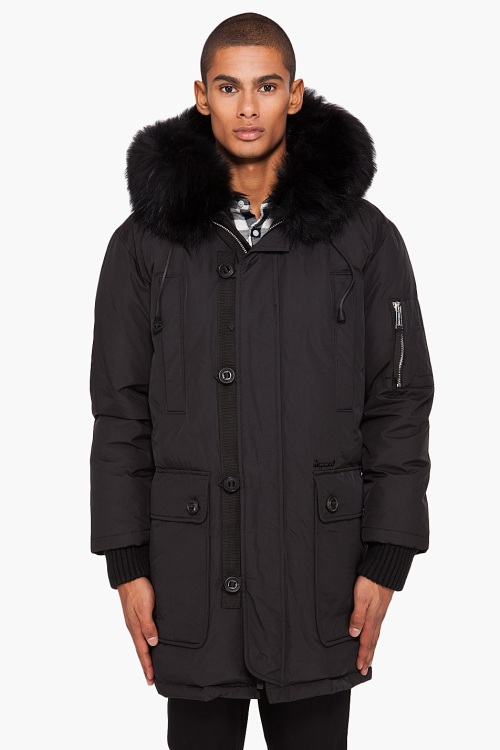 DSquared2, DSquared, Winter Jacket, hooded parka