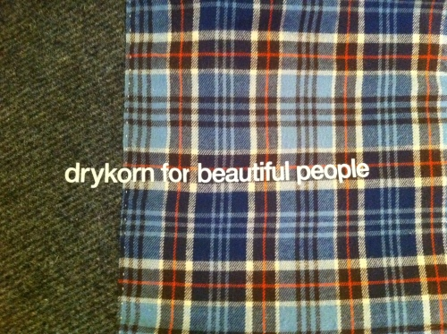 Drykorn, Fall Winter 2011, Autuwn Winter, 2011, Drykorn For Beautiful People,Drykron Jacket Liner