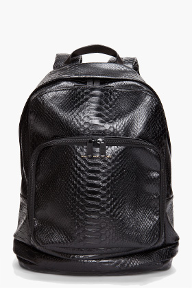 Marc by Marc Jacobs, Nifty Gifty, Python, Backpack, Marc Jacobs
