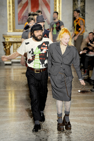 Andreas Kronthaler and Vivienne Westwood Vivienne Westwood Fall Winter 2012 Menswear