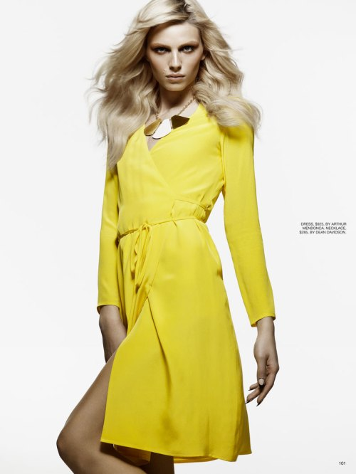 Andrej Pejic by Moo King for Fashion Canada February 2012 4