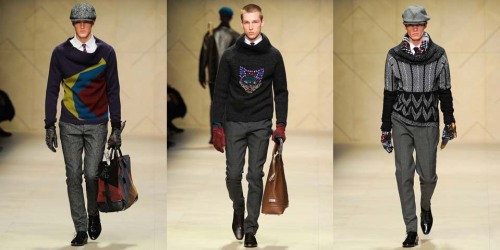 Burberry Prorsum Fall Winter 2012 Menswear (2)