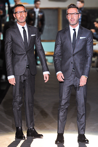 Dan and Dean Caten Dsquared² Fall Winter 2012 Menswear