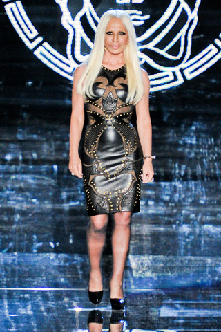 Donatella Versace Versace Fall Winter 2012 Menswear