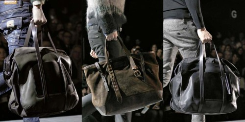 Dsquared² Fall Winter 2012 Menswear Details Bags (2)