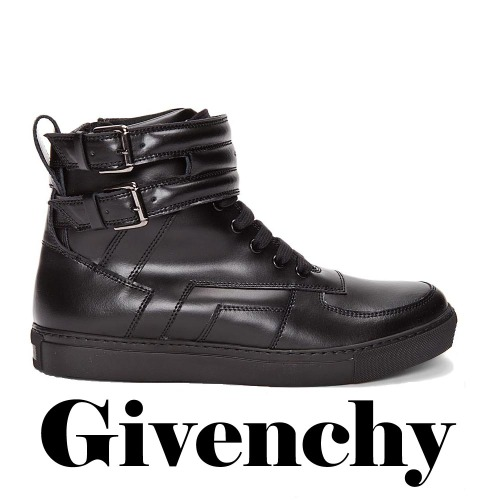 GIVENCHY Leather Boucles Sneakers, GIVENCHY, Leather, Boucles, Sneakers
