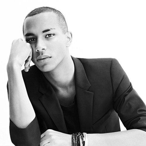 Olivier Rousteing Balmain Fall Winter 2012 Menswear