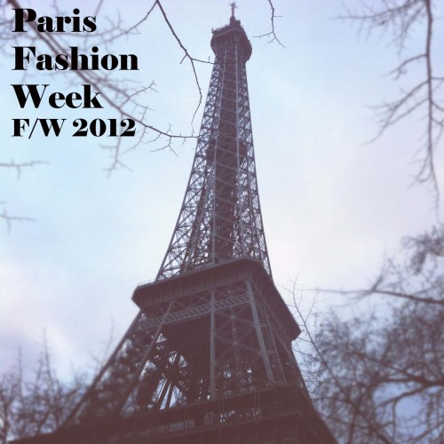 Paris Fashion Week F-W 2012, Paris, Fashion Week, Autum Winter, Fall Winter, 2012