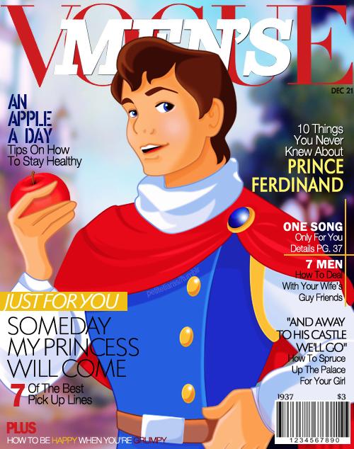 Prince Ferdinand/Charming on Men's Vogue