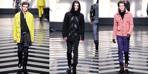 Roberto Cavalli Fall Winter 2012 Menswear (2)