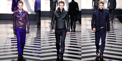 Roberto Cavalli Fall Winter 2012 Menswear (3)