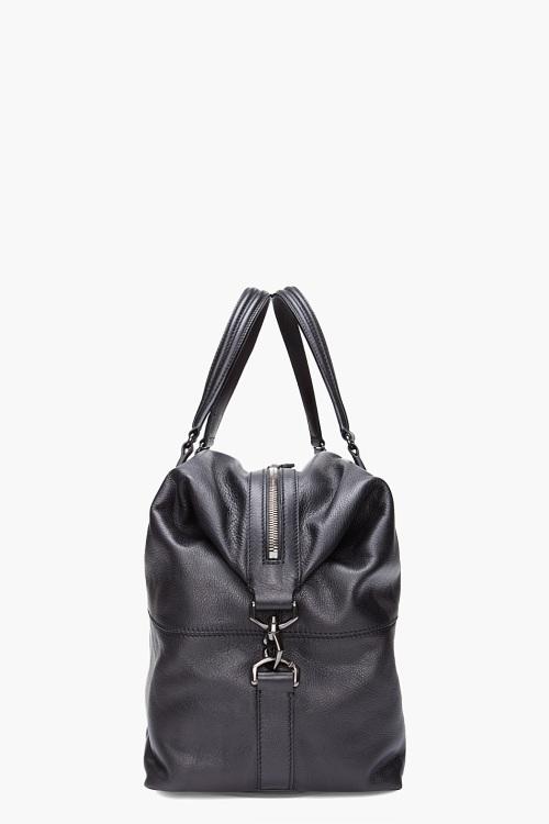 GIVENCHY Black Nightingale Boston Bag