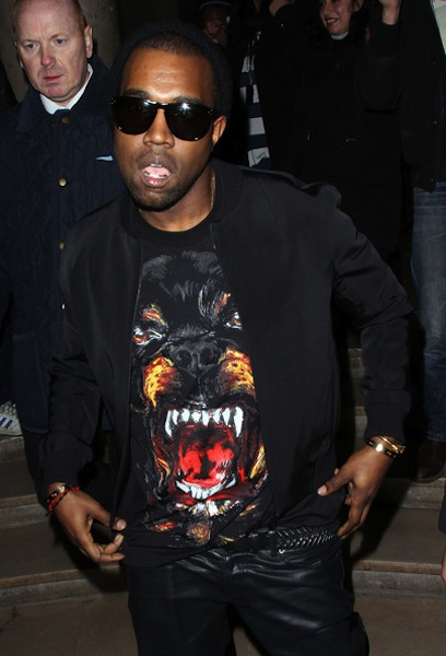 Kanye West Givenchy Rottweiler Sweater
