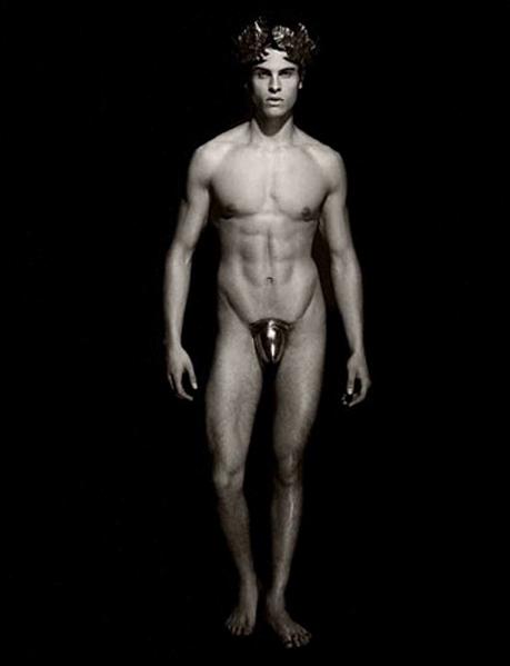 Baptiste Giabiconi for Pirelli Calendar 2011 by Karl Lagerfeld