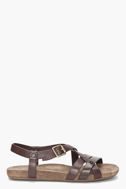 Paul Smith Leather Pierrot Sandals