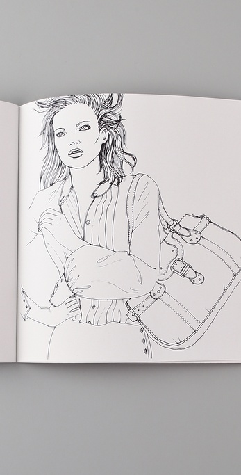 Colour Me Good Kate Moss Coloring Book