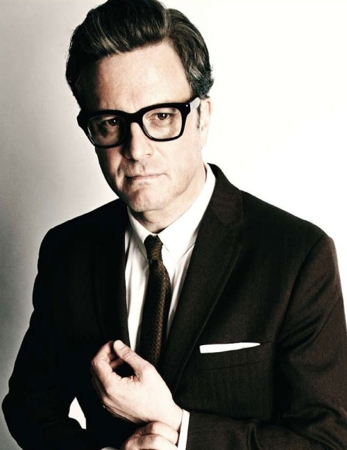 Colin Firth, geek chic, glasses