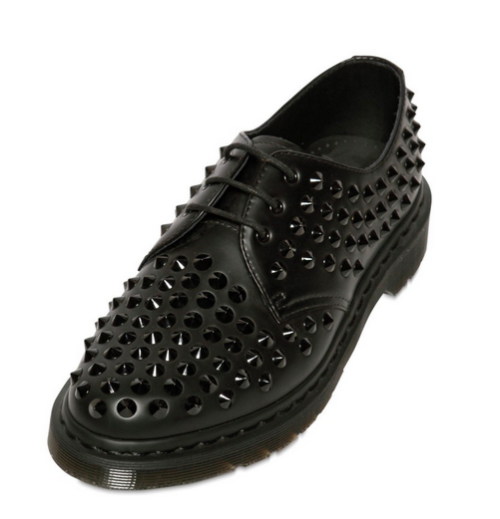 Dr. Martens, Doc Martens, studded shoes, spiked shoes, mens