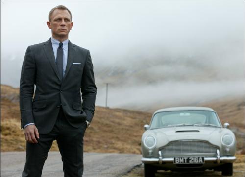 Daniel Craig, James Bond, Skyfall, Tom Ford suit