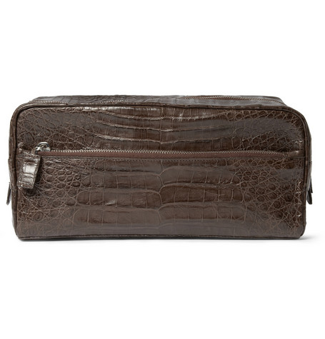 Santiago Gonzalez, crocodile, wash bag