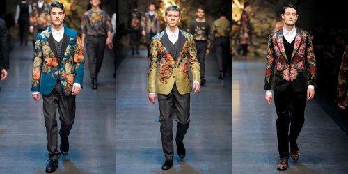 Dolce and Gabban, D&G, Dolce, Gabbana, fall, winter, 2013, menswear, Milan Fashion Week,