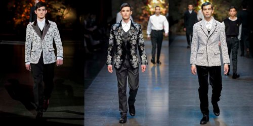 Dolce and Gabban, D&G, Dolce, Gabbana, fall, winter, 2013, menswear, Milan Fashion Week,