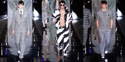 Versace, Donatella Versace, fall, winter, 2013, menswear, Milan Fashion Week,