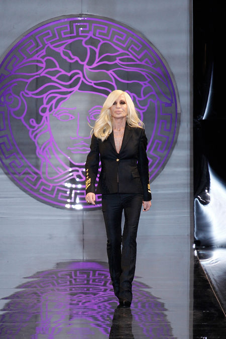 Versace, Donatella Versace, fall, winter, 2013, menswear, Milan Fashion Week,