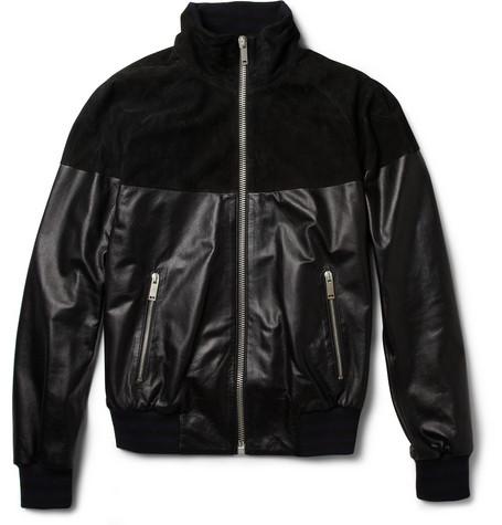 Alexander McQueen, Leather sleeve, jacket, menswear,