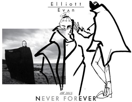 Elliot Evan Never Forever Fall Winter 2013