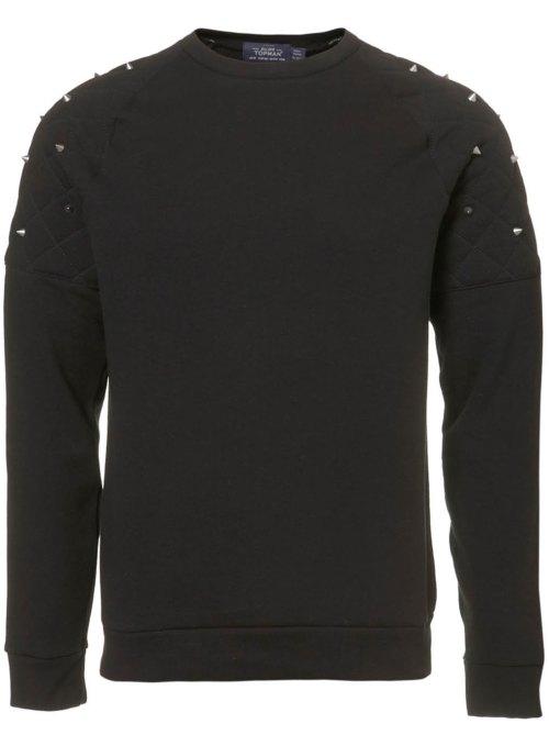 Topman, Sweater, menswear, studded