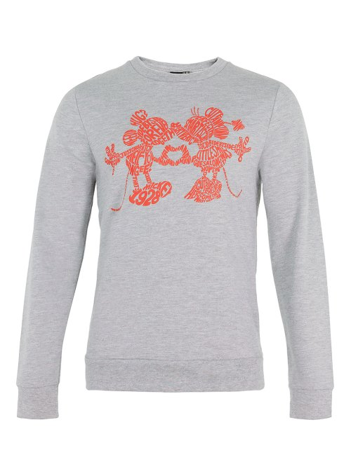 Topman, Sweater, menswear, mickey mouse, minnie mouse, mickey and minnie