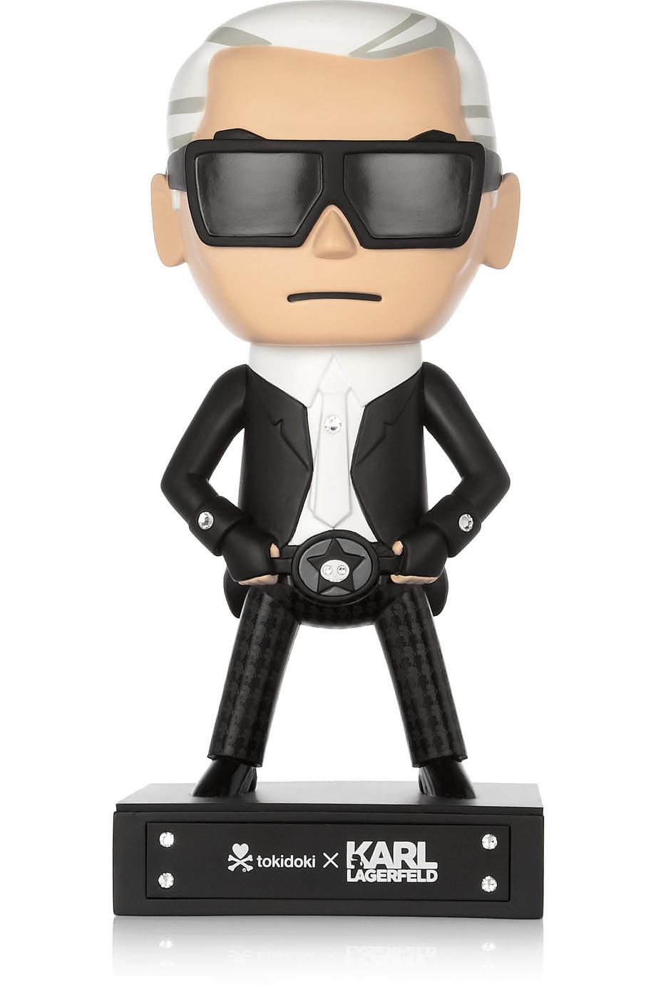 figurine karl lagerfeld tokidoki