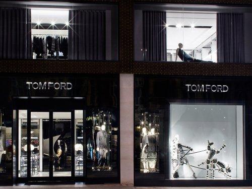 Tom Ford, London, Flagship, Sloane Street